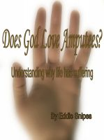 Cover for 'Does God Love Amputees?'