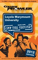 Cover for 'Loyola Marymount University 2012'