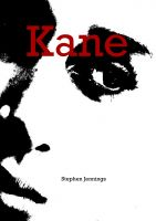 Cover for 'Kane'