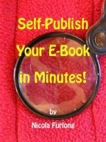 Cover for 'Self-Publish Your E-Book in Minutes!'
