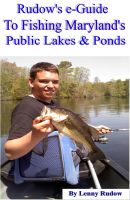 Cover for 'Rudow's e-Guide to Fishing Maryland's Public Lakes & Ponds'
