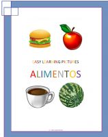 Cover for 'Easy Learning pictures. Alimentos'