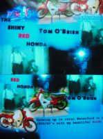 Cover for 'The Shiny Red Honda'