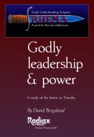 Cover for 'Godly Leadership & Power'