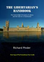 Cover for 'The Libertarian's Handbook - The Centre-Right Principles of Liberty and the Case for a Constitution'