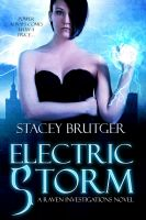 Cover for 'Electric Storm (A Raven Investigations Novel)'