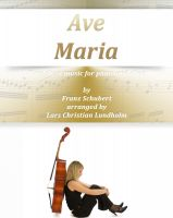 Cover for 'Ave Maria Pure sheet music for piano and oboe by Franz Schubert arranged by Lars Christian Lundholm'