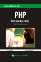 Cover for 'PHP Interview Questions You'll Most Likely Be Asked'