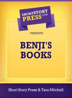 Cover for 'Benji's Book'