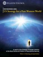 Cover for 'Envisioning 2030: US Strategy for a Post-Western World'