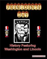 Cover for 'President's Day History Featuring Washington and Lincoln'