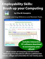 Cover for 'Employability Skills: Brush up your Computing'