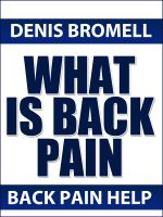 Cover for 'What is Back PAIN'