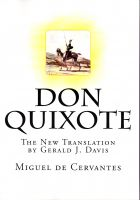Cover for 'Don Quixote'