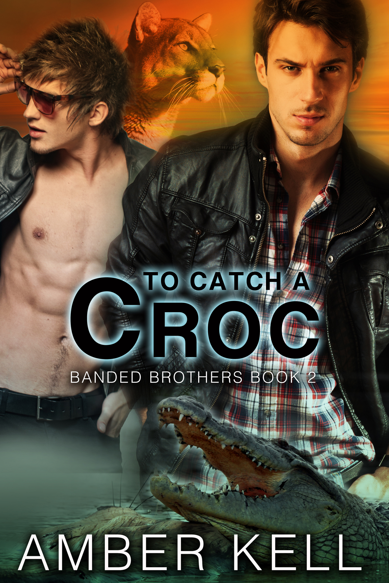 Amber Kell - To Catch a Croc