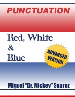 PUNCTUATION - Red, White & Blue