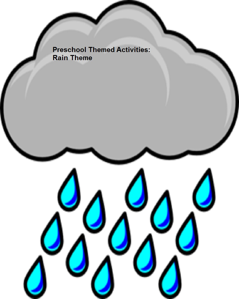 "Download ""Preschool Themed Activities: Rain Theme"" by Cheryl Hatch for ..."