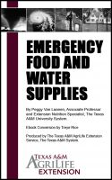 Cover for 'Emergency Food and Water Supplies'