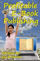 Cover for 'Profitable E-Book Publishing'