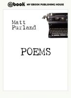 Cover for 'Poems'