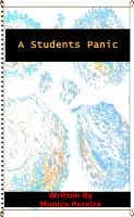 Cover for 'A Students Panic'