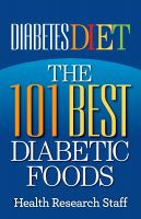 Cover for 'Diabetes Diet: The 101 Best Diabetic Foods'