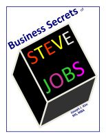 Cover for 'Business Secrets of Steve Jobs'