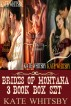 Brides of Montana 3 Book Box Set (Mail Order Brides) by Kate Whitsby