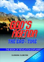 Cover for 'God's Agenda for the End - Time - The Book of Revelation Explained'