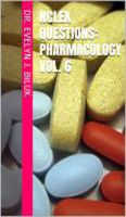 Cover for 'NCLEX Questions: Pharmacology Vol. 6'