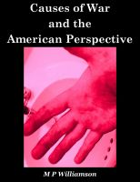 Cover for 'Causes of War and the American Perspective'