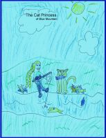 Cover for 'The Cat Princess of Blue Mountain'