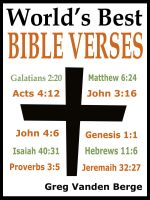 Cover for 'World's Best Bible Verses'