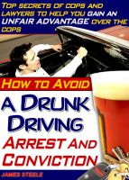 Cover for 'DUI – How To Avoid DUI Arrests And Never Face A DUI Charge'