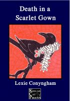 Cover for 'Death in a Scarlet Gown'