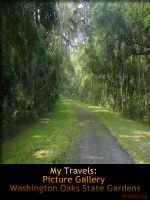 Cover for 'My Travels: Picture Gallery Washington Oaks State Gardens'