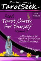 Cover for 'Psychic Jucy's TarotSeek™: Learn How To Read Tarot Cards For Yourself'