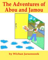 Cover for 'The Adventures of Abou and Jamou'