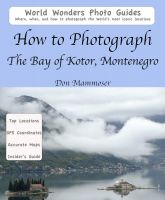 Cover for 'How to Photograph The Bay of Kotor, Montenegro'