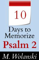 Cover for '10 Days to Memorize Psalm 2'