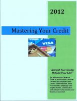 Cover for 'Mastering Your Credit - 2012'