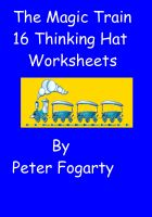 Cover for 'The Magic Train - Thinking Hat Guided Reading Worksheets'