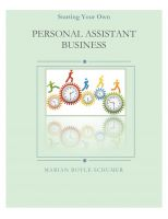 Cover for 'How to Start a Personal Assistant Business'