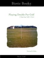 Cover for 'Playing Double Par Golf - A Beginning Golfer's Primer'