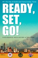 Cover for 'Ready, Set, Go! Your Personal Wildland Fire Action Guide for Central Texas'