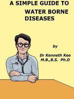 Cover for 'A Simple Guide to Water Borne Diseases'