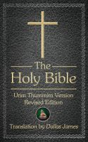 Cover for 'The Holy Bible'