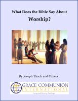 Cover for 'What Does the Bible Say About Worship?'