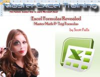 Cover for 'Excel Formulas Revealed - Master Math & Trig Formulas in Microsoft Excel'