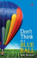 Cover for 'Don't Think of a Blue Ball'